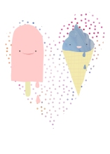 Icecream Heart Melt