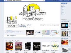 Facebook Page - Logo Design - Hope Street