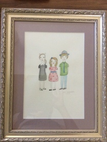 Kid Love FRAMED