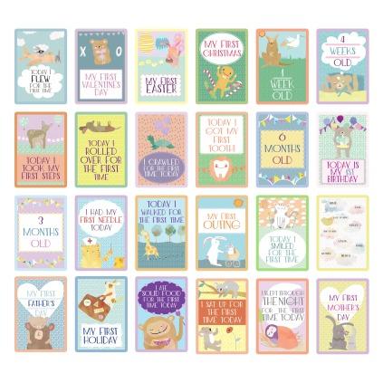 Milestone Card Design for Jolla Baby