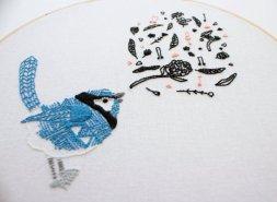 Design for Threadfolk Embroidery Kit